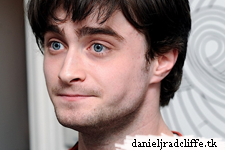 Daniel Radcliffe at Lizzie Mary Cullen's The Big Issue exhibition
