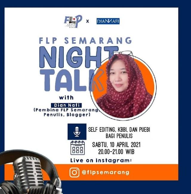 Night Talk with Dian Nafi: FLP Semarang