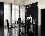 Black and White Dining Room Ideas for the Best Opposites: Ideas ...