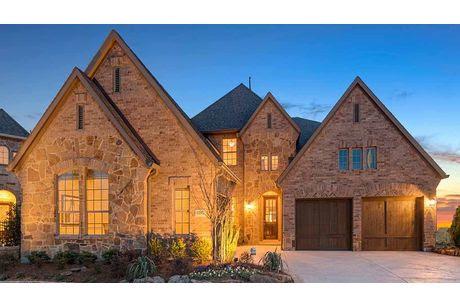 Fairway Ranch 65: Roanoke, TX, New homes by Darling Homes