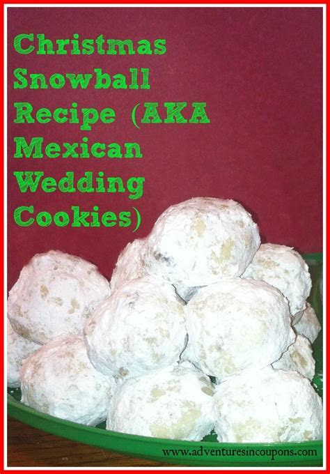 17 Best images about Mexican Wedding Cookie Recipes on
