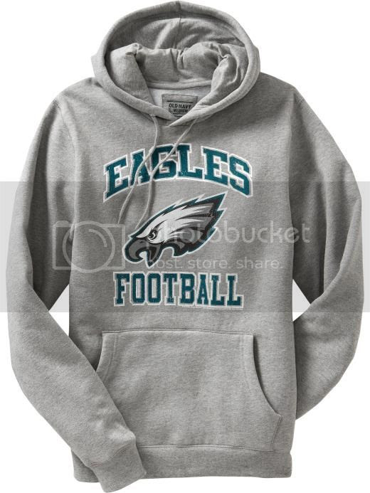 MENS NFL EAGLES FOOTBALL HOODIE SWEAT SHIRT 2XL,3XL NEW