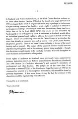 Lord Hamilton to Holyrood - McKenzie Friends sit behind litigants (no they dont) Pg 2