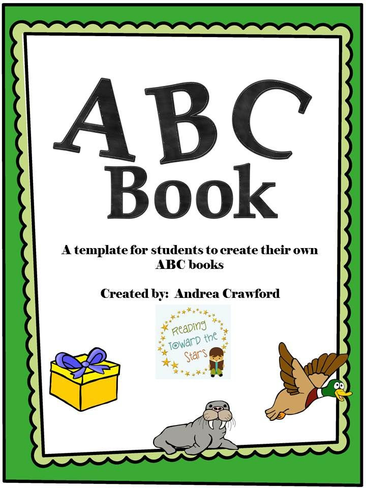 http://www.teachersnotebook.com/product/readingtowardthestars/abc-book-template-for-alphabet-review