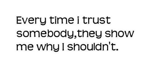 Sad Friendship Quotes Trust
