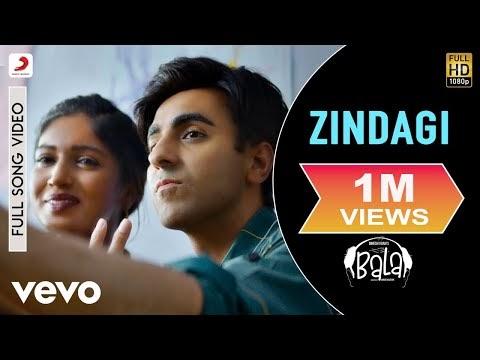 Zindagi Lyrics – Bala   Papon x Sachin-Jigar