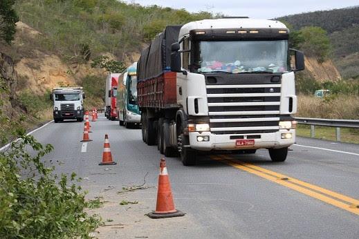 Acidente aconteceu na BR-116. Foto: Blog Marcos Frahm