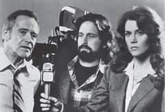 Richard (Douglas) and Kimberly (Fonda) interview Jack Godell (Jack Lemmon