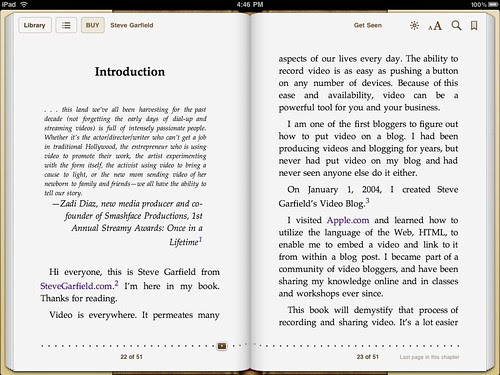 Get Seen - Introduction. iBook Store