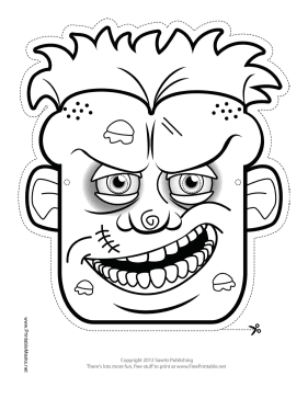 1000+ ideas about Zombie Mask on Pinterest   Halloween masks ...