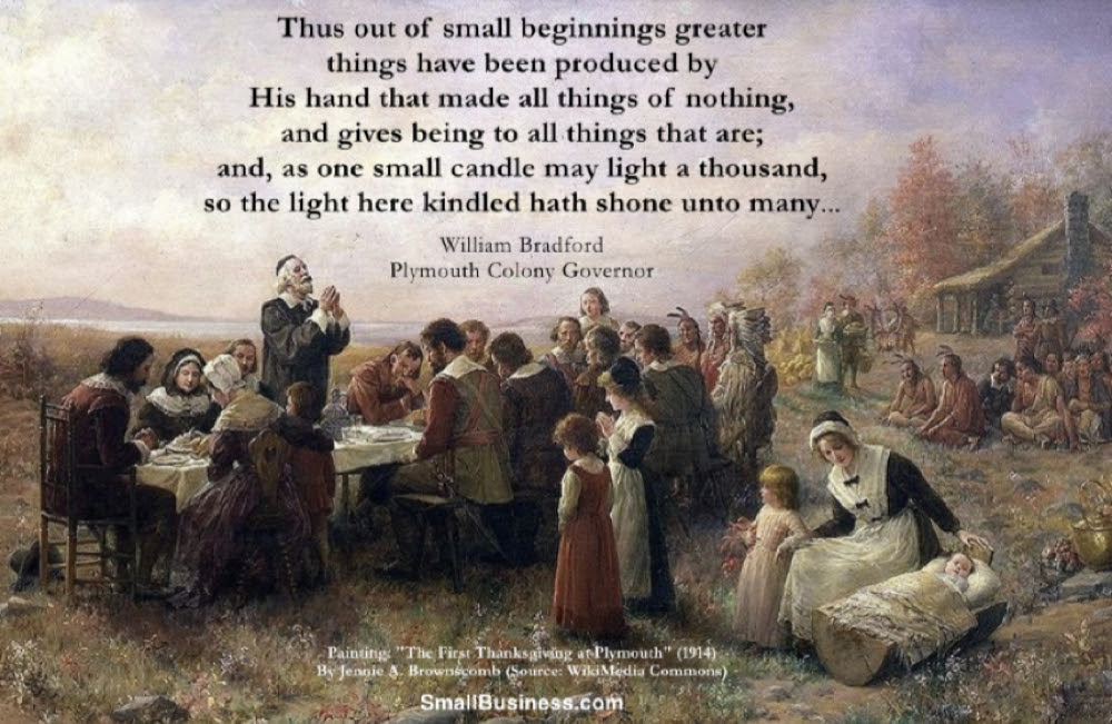 Image result for Thanksgiving william bradford Quotes