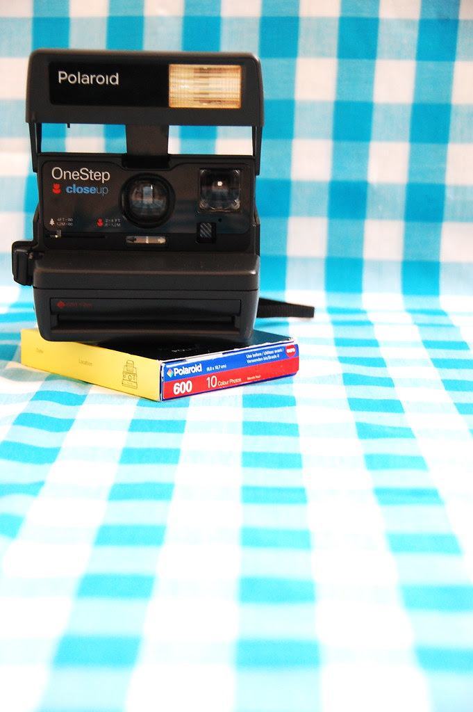 polaroid camera and film giveaway