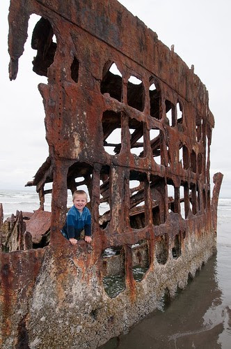 Peter Iredale Shipwreck, OR coast