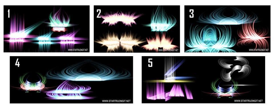 5 bộ wind trang trí ảnh bìa đẹp