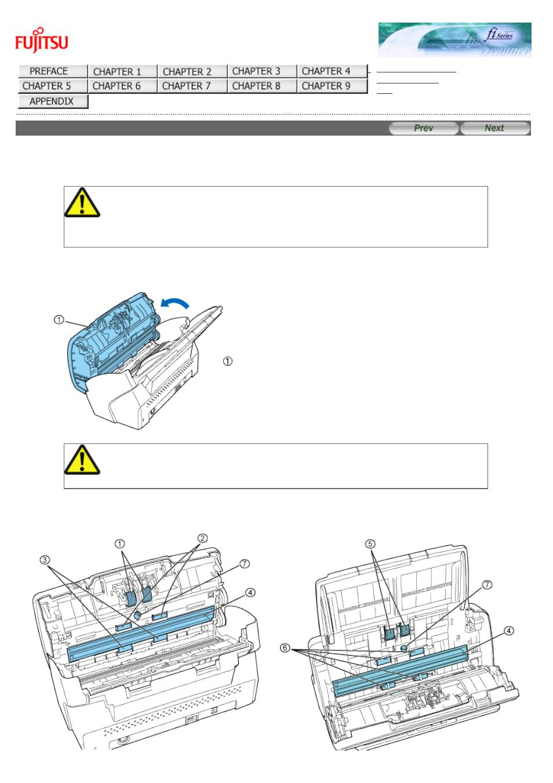 Fujitsu Fi 6130 Parts Diagram