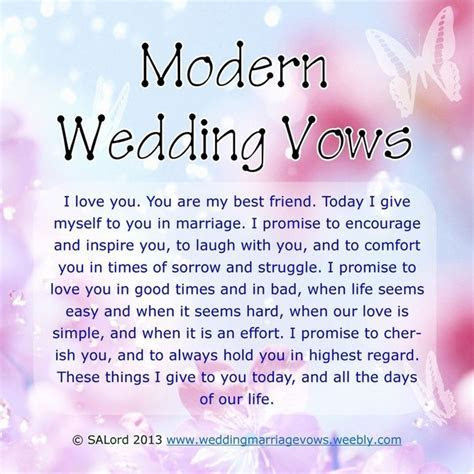 25  best ideas about Non religious wedding vows on