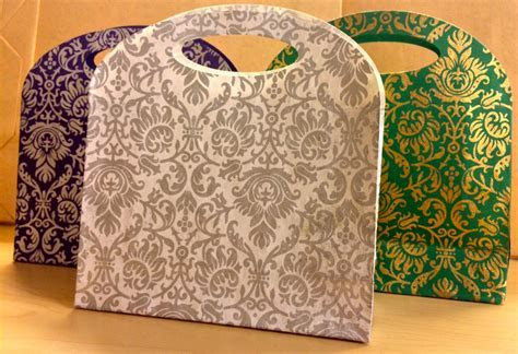 Handmade Small Gift Bag, Indian Wedding Favor, by