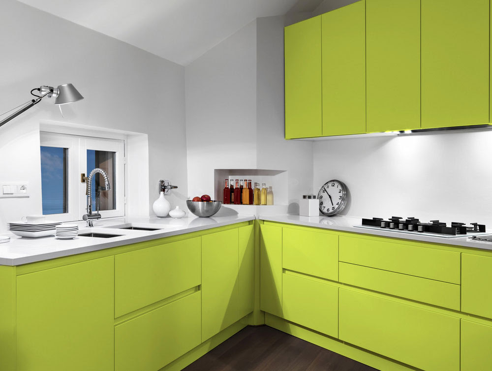 Home Living Blog Modular Kitchen Design Green
