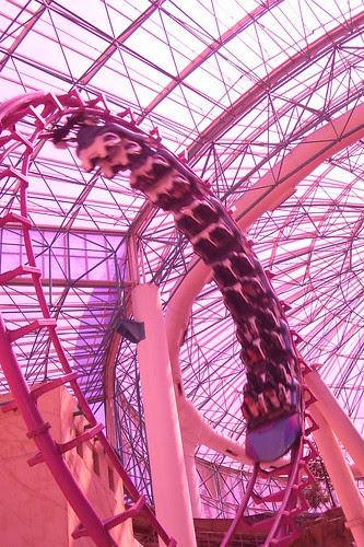 Roller Coaster at Circus Circus