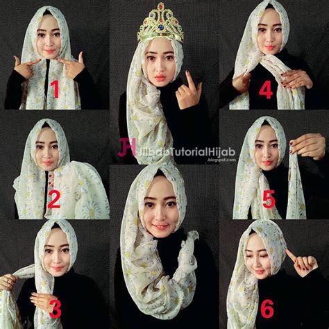 style hijab idul fitri ala model