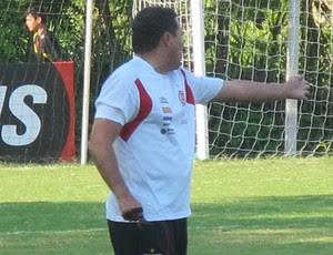 vanderlei luxemburgo   Flamengo (Foto: Janir Junior/Globoesporte.com)