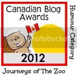2012 Canadian Blog Awards Humour