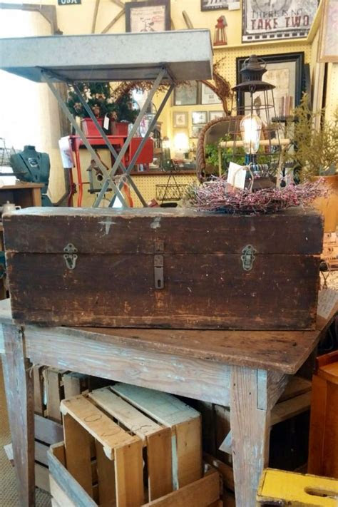 liberty fair antique booth flea market vignette