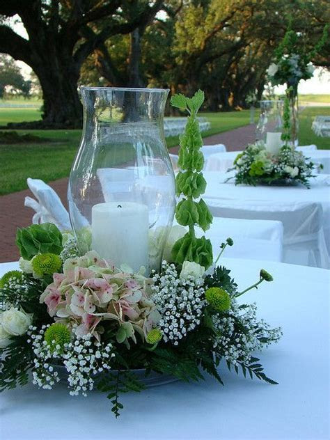 Hurricane Centerpieces   Beautifull special occasions
