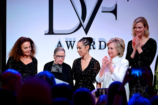 Avatar of Diane von Furstenberg and Hillary Clinton Honored Ruth Bader Ginsburg in DC