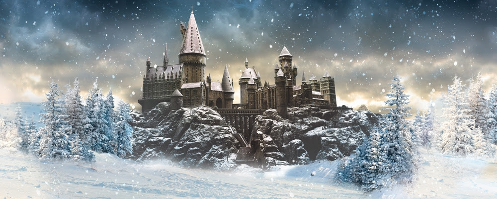 Resultado de imagen de hogwarts snow