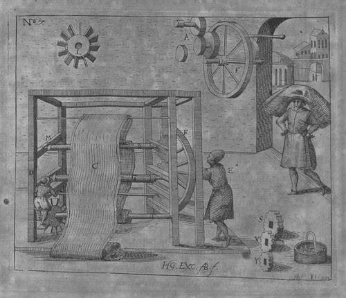 Heinrich Zeising - Theatri machinarum Erster - 1613 c