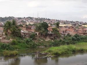 Rio Una, em Palmares (Foto: Luna Markman)