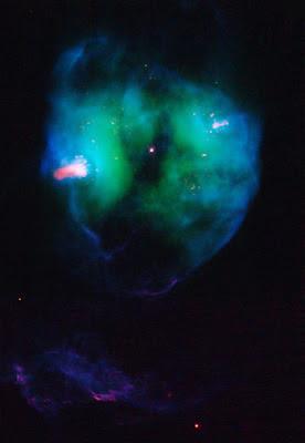 NGC 2371 por Hubble