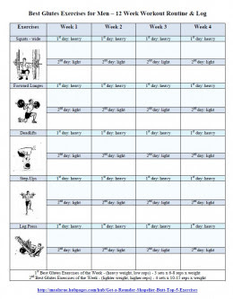 Gym Workout Plan For Men To Build Muscle