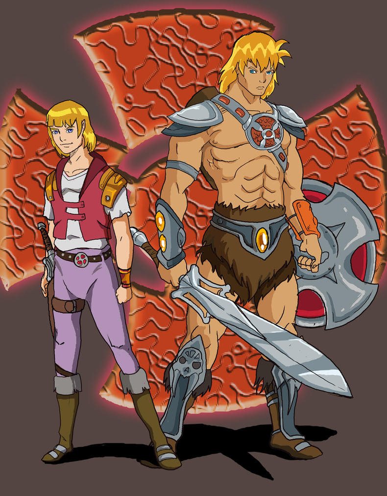 Masters Of The Universe Anime Style by JazylH