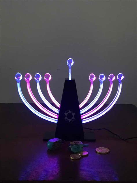 Jewish GIFTS   Electric Menorah   Color Changing LED