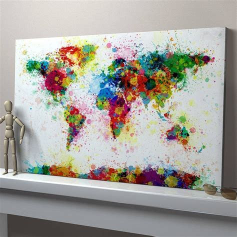 easy canvas paintings  techniques