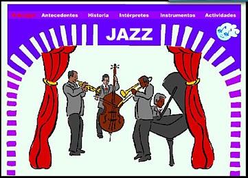 http://www.juntadeandalucia.es/averroes/ieslaribera/musica/jazz/jazz.html