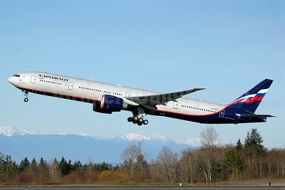 Aeroflot Russian Airlines Boeing 777-3M0 ER VP-BGD (msn 41681) PAE (Nick Dean). Image: 911614.