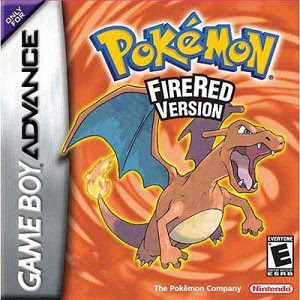 Pokemon Fire Red Nintendo Game Boy Advance GBA