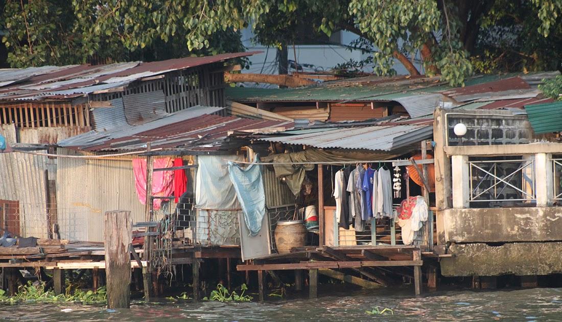 Komodo Island Bangkok Thailand Part Three River Houses