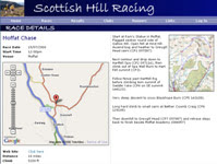 Race Details Page - Moffat Chase