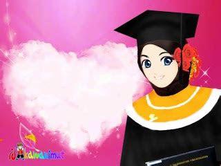 gambar kartun muslimah cantik renungan kisah inspiratif