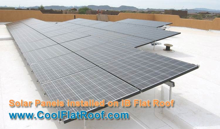 Solar Energy Installation Panel Flat Roof Solar Panels
