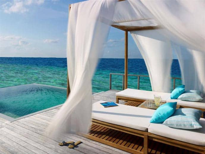 Dusit Thani Maldives- 360-degree of Coral Reef, Turquoise Water ...