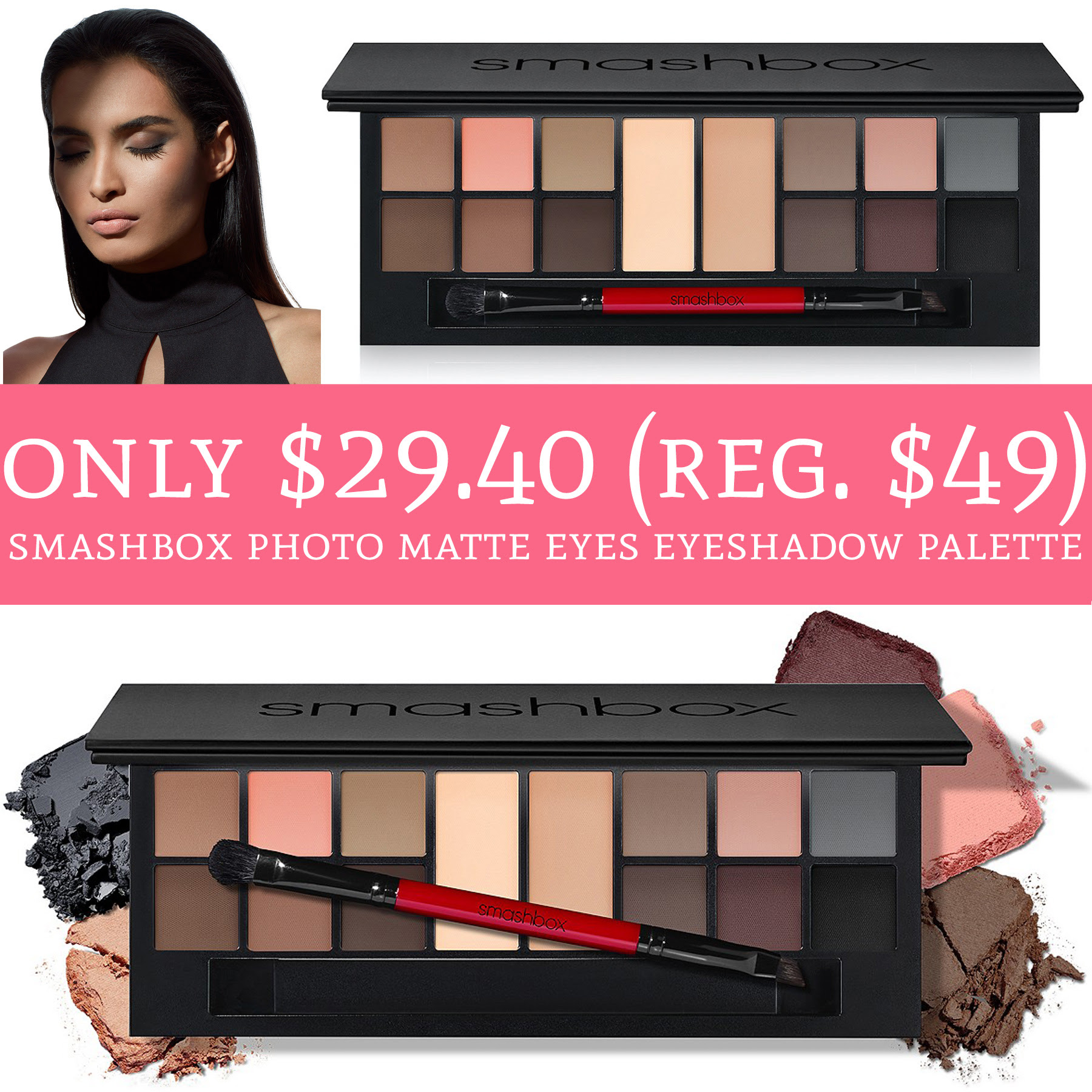 Only 2940 Regular 49 Smashbox Photo Matte Eyes Eyeshadow