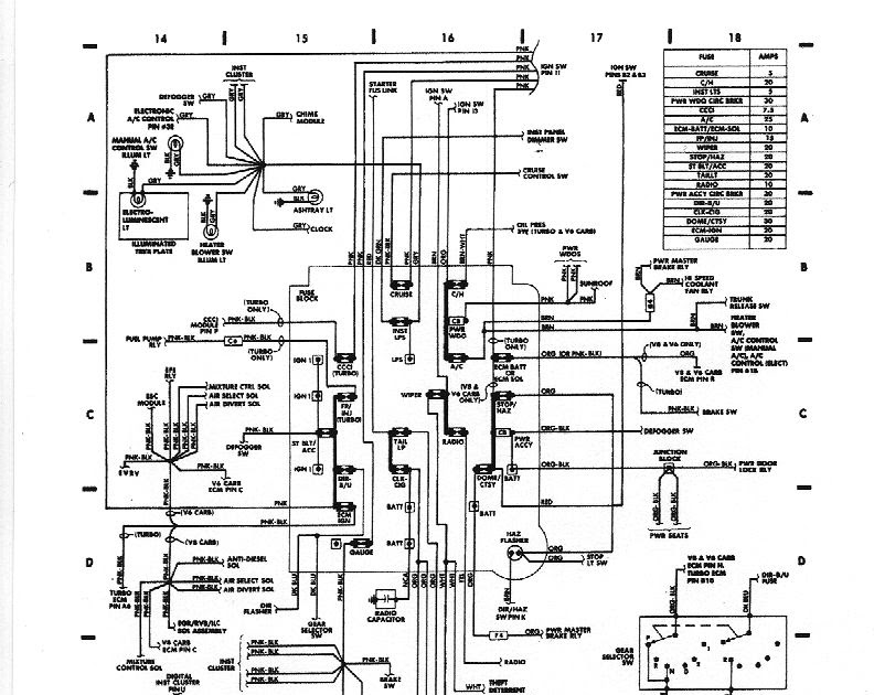 1987 Buick Gn Engine Diagram