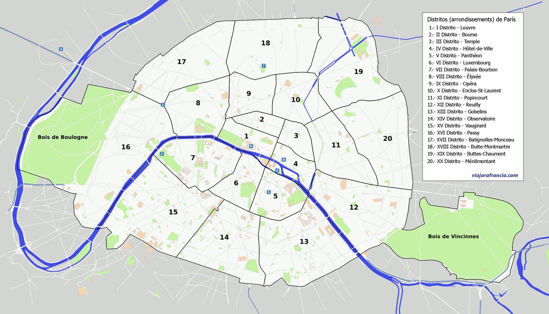 Resultado de imagen de barrios paris