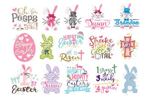 Download Free Easter SVG Bundle Crafter File