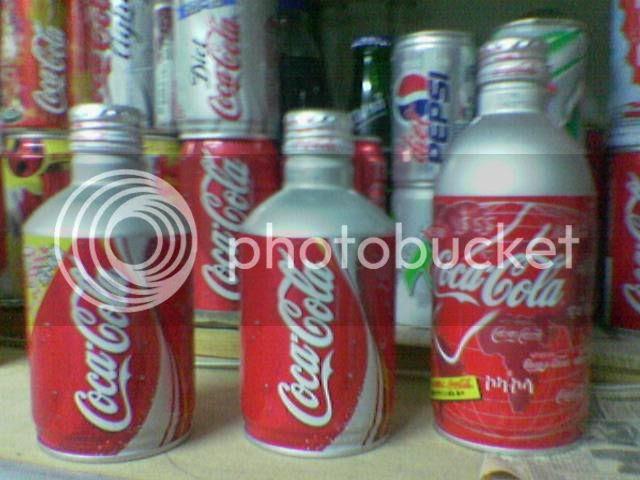 Japanese Bottle Coke Can